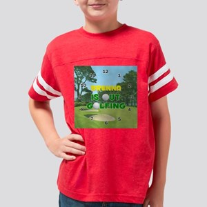 STYLE005F-BRENNA Youth Football Shirt