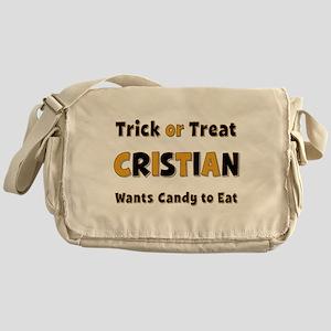Cristian Trick or Treat Messenger Bag