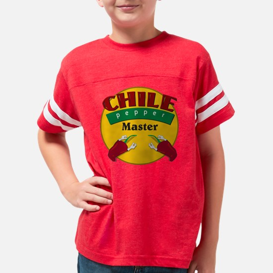 HH-chile master1 shirt rev Youth Football Shirt