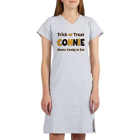 Connie Trick or Treat Women's Nightshirt