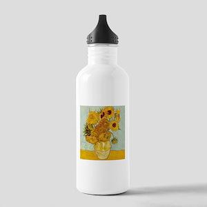 Vincent Van Gogh Sunfl Stainless Water Bottle 1.0L