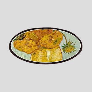 Vincent Van Gogh Sunflower Painting Patch