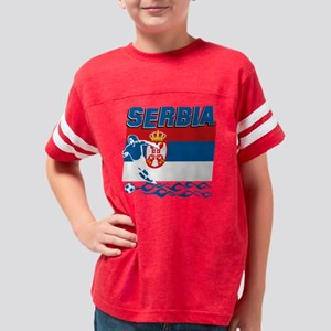 soccer player designs Youth Football Shirt