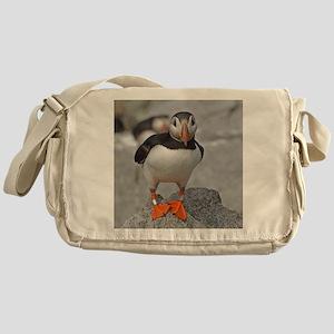 Puffin Messenger Bag