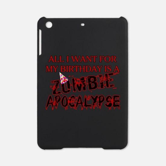 Birthday Zombie Apocalypse iPad Mini Case