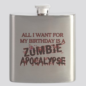 Birthday Zombie Apocalypse Flask