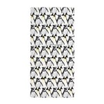 Penguin Pattern 1 Beach Towel