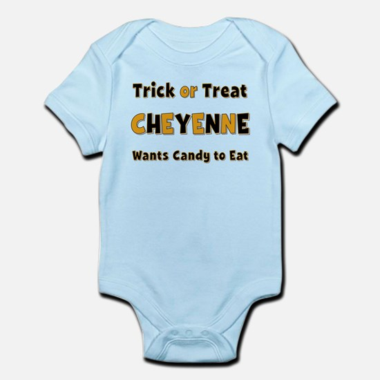 Cheyenne Trick or Treat Body Suit