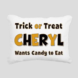 Cheryl Trick or Treat Rectangular Canvas Pillow