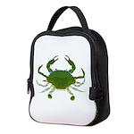 Blue Crab Neoprene Lunch Bag