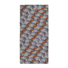 School of Piranhas PS Beach Towel
