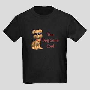 Dog Gone Cool Doggy Kids Dark T-Shirt