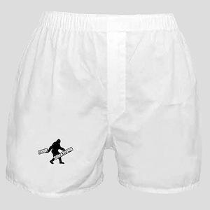 Gone Squatchin Boxer Shorts