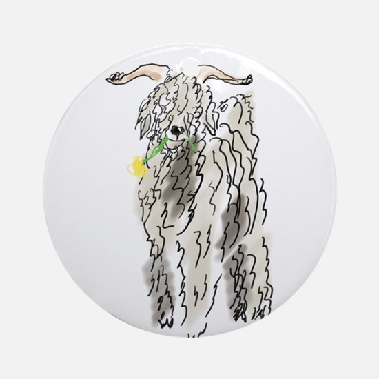 snacking Ornament (Round)