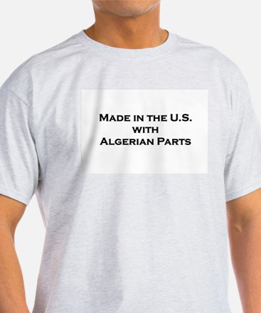 Made in the U.S. with Algerian Parts Ash Grey T-Sh