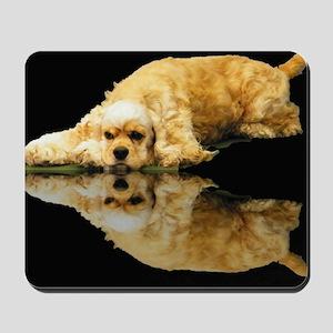 Cocker Reflection Mousepad