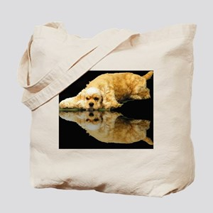Cocker Reflection Tote Bag