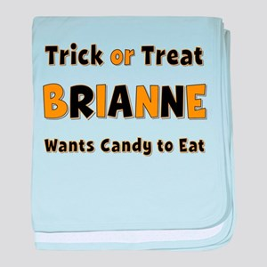 Brianne Trick or Treat baby blanket