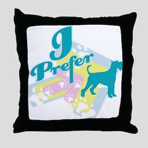 Standard Schnauzer Throw Pillow