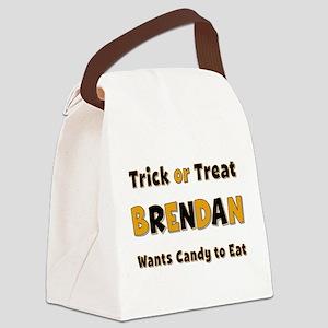 Brendan Trick or Treat Canvas Lunch Bag