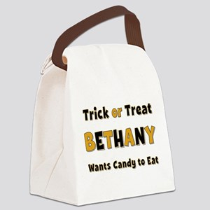 Bethany Trick or Treat Canvas Lunch Bag