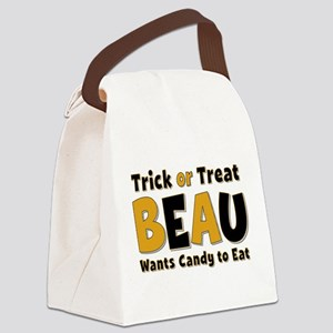 Beau Trick or Treat Canvas Lunch Bag