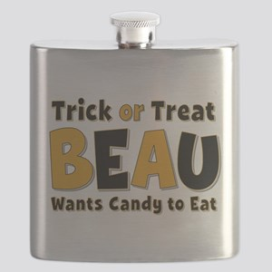 Beau Trick or Treat Flask