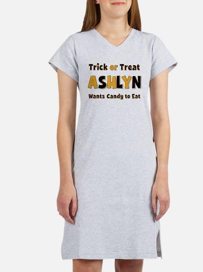 Ashlyn Trick or Treat Women's Nightshirt