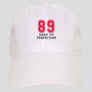 89 Year birthday designs Cap