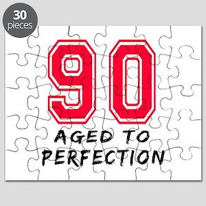 90 Year birthday designs Puzzle