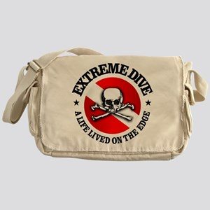 Extreme Dive (Skull) Messenger Bag