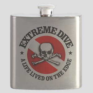 Extreme Dive (Skull) Flask