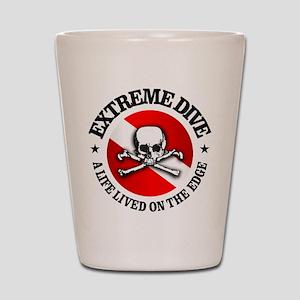 Extreme Dive (Skull) Shot Glass