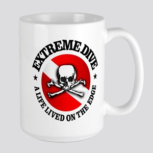 Extreme Dive (Skull) Mug