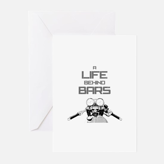 A Life Behind Bars Greeting Cards (Pk of 10)