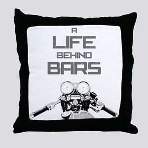 A Life Behind Bars Throw Pillow