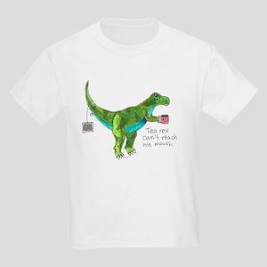 Tea Rex Can't Reach His Mouth T-Shirt