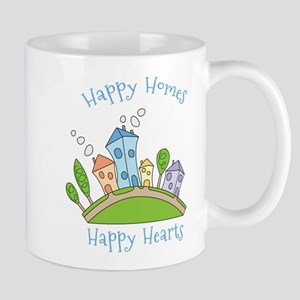 Happy Homes Happy Hearts Mug