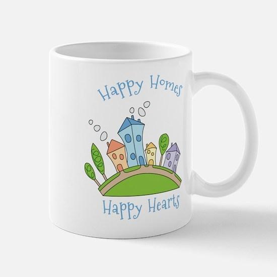 Happy Homes Happy Hearts Mug