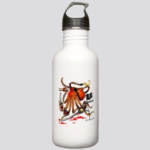 Pirate Octopus Water Bottle