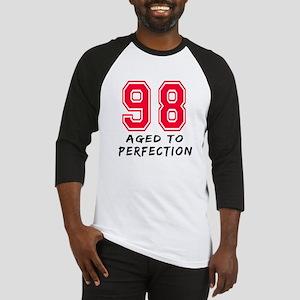 98 Year birthday designs Baseball Jersey