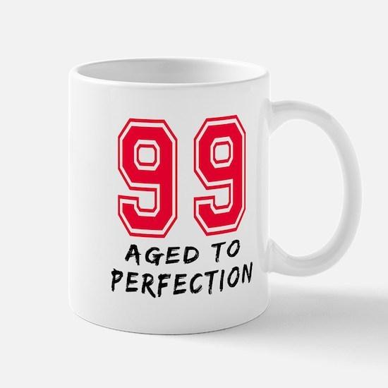 99 Year birthday designs Mug
