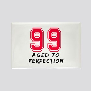 99 Year birthday designs Rectangle Magnet