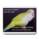 The Ultimate Quaker Mousepad