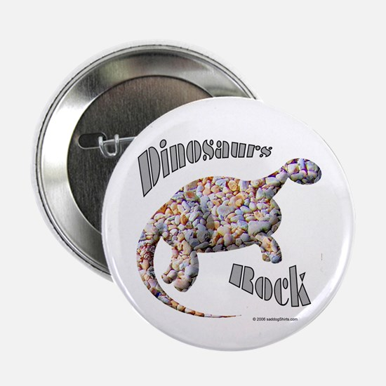 "Dinosaurs Rock! 2.25"" Button (10 pack)"