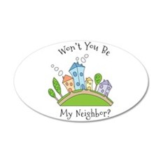 Wont You Be My Neighbor? Wall Decal