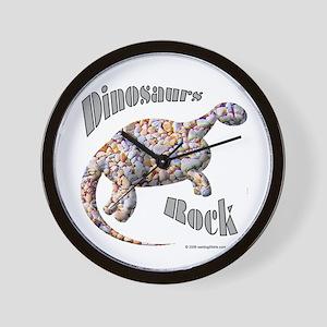Dinosaurs Rock! Wall Clock