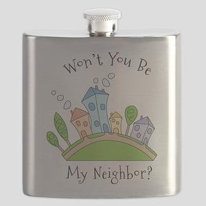 Wont You Be My Neighbor? Flask