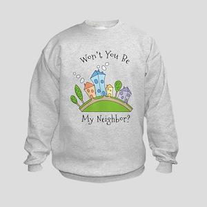Wont You Be My Neighbor? Sweatshirt
