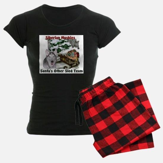 Siberian Husky Christmas Pajamas